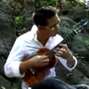 Jake Shimabukuro playing 'while my guitar gently weeps' by George Harrison on his ukelele