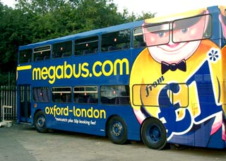 Go home with the megabus man