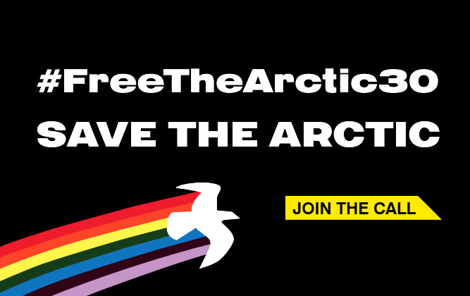 PETITION: Tell Russia to Release Greenpeace Activists
